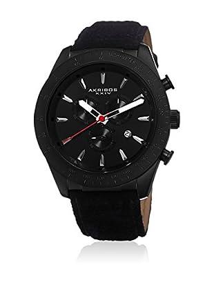 Akribos XXIV Reloj de cuarzo Man AK701BK 48 mm