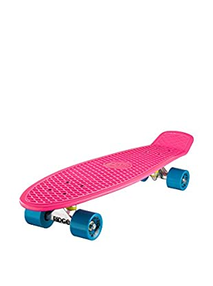 Ridge Skateboards Monopatín Big Brother Cruiser Fucsia / Azul