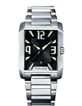 Police Analog Black Dial Men's Watch - PL11682MS/02M