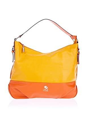 Otto Kern Hobo Bag Lyon 10 (Gelb/Orange)
