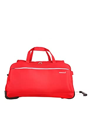 Platinium Borsone Trolley Cargese (Rosso)