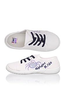Chuches Kid's Sneaker (White/navy)