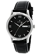 Titan Karishma Analog Black Dial Men's Watch - NE1580SL04