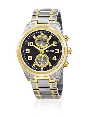 August Steiner Uhr mit Japanischem Quarzuhrwerk AS8173TTGB 44 mm
