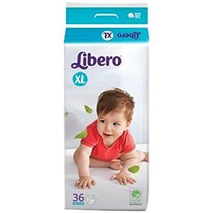 Libero XL Size Diaper  (36 Counts)