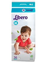 Libero XL Size Diaper  (36 Counts)