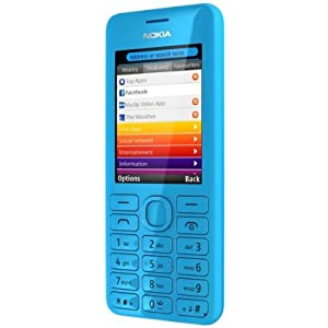 Nokia 206 (Cyan)
