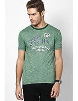 Verdant Green-Pt Round Neck T-Shirt