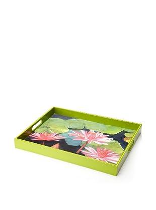 rockflowerpaper Serving Tray (Water Lilies)