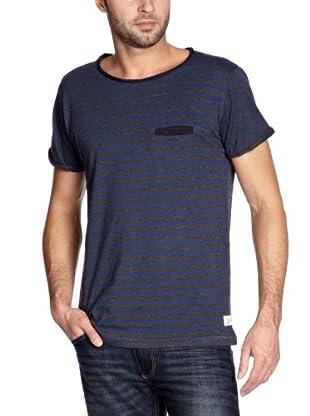 Cottonfield T-Shirt (Blau/Grau)