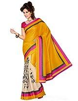 ishin Bhagalpuri Silk Multicolor saree ISHI-70