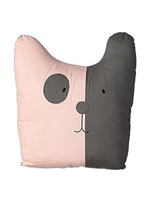 Chateau chic Kissen Cat grau/rosa