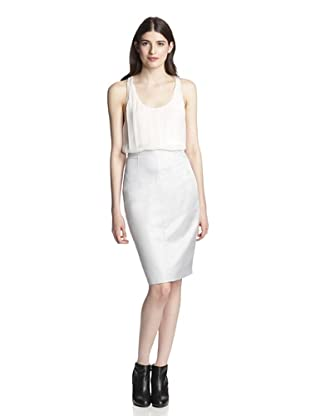 Gareth Pugh Women's Pencil Skirt (Ice)