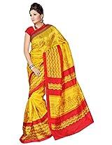 Kanheyas Gadhwal silk printed saree