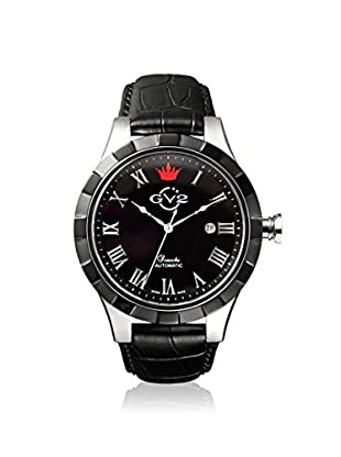 GV2 by Gevril Men's 9503 Scacchi Black Leather Watch