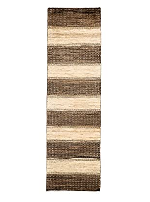 Darya Rugs Modern Oriental Rug, Brown, 2' 8