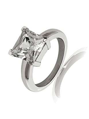 Carat 1934 Ring Zirkonia Princess Cut (weiß)