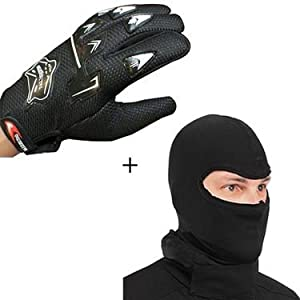 Knighthood Combo of Gloves and Balaclava Face Mask