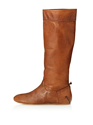 CNC Costume National Women's Flat Tall Boot (Tan)