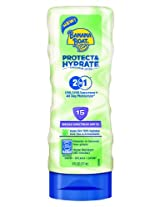 Banana Boat Protect And Hydrate Sunscreen Lotion Spf 15, 6 Ounce