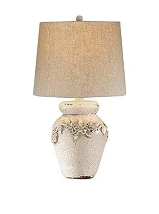 Bassett Mirror Co. Eleanore 1-Light Table Lamp, Ceramic