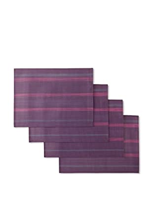 Winkler Set of 4 Paint Placemats (Purple)
