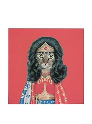 Lo+Demoda Lienzo Cat Lady