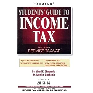 Students Guide to Income Tax (Including Service Tax, Vat)