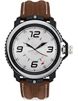 Fastrack Grey/Silver Dial Men's Analog Watch - 38017PL02