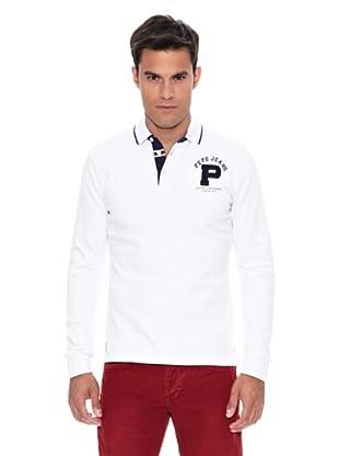 Pepe Jeans London Polo Bruce (Blanco)