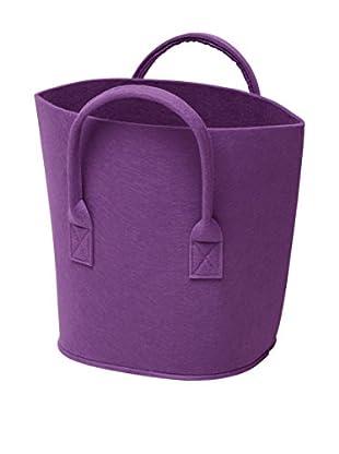 GIANNINI Zeitungsständer violett