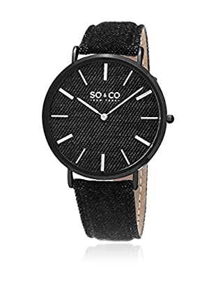 SO & CO New York Quarzuhr Unisex GP15435 41 mm