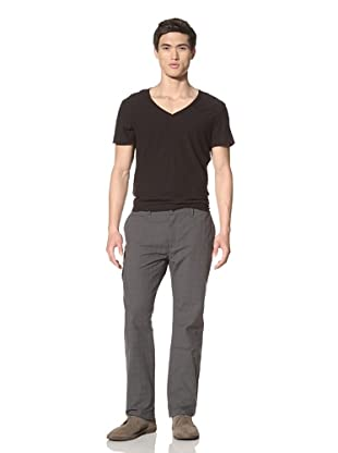 John Varvatos Collection Men's Glen Plaid Cargo Pants (Flagstone)
