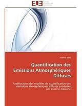 Quantification Des Emissions Atmospheriques Diffuses (Omn.Univ.Europ.)