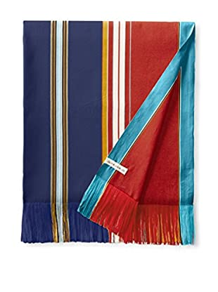 Nomadic Thread Society East African Beach & Bed Throw, Navy