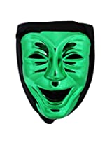 300 Immortal Laughing Mask with Hood - Green