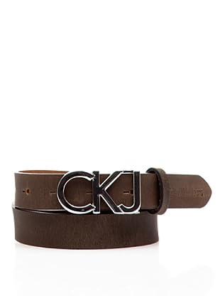 Calvin Klein Jeans Cinturón Cw22Cf (Chocolate)