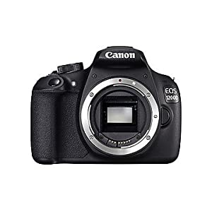 Canon EOS 1200D DSLR Camera Body Only Black