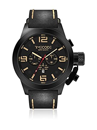 Timecode Reloj de cuarzo Man Nations 1945 Negro 50 mm