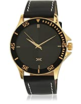 KILLER Black Dial Analogue Watch for Men (KLW210E_New1)