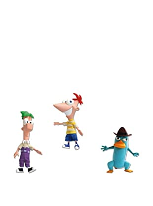 Famosa Phineas And Ferb Peluche Para Coleccionar