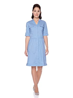 UNQ Hemdblusenkleid (Blau)