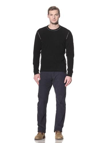 Benson Men's Crewneck Sweater (Black)