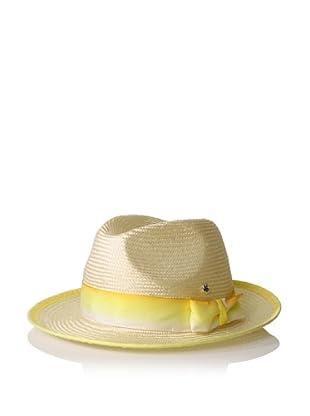 Florabella Women's Wallis Ribbon Hat (Bleached)