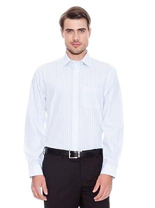 Brooks Brothers Camisa Vestir Kaden (Blanco / Violeta)