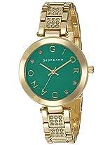 Giordano Analog Green Dial Women's Watch - A2040-11