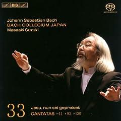 鈴木雅明指揮/BCJ バッハ:カンタータ全集 Vol.33の商品写真