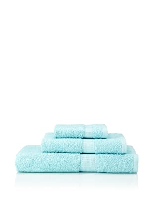 Tommy Hilfiger 3-Piece Towel Set (Poolside Blue)