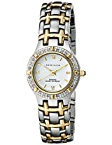Anne Klein Women's 10/8801WTTT Genuine Diamond Accented Two-Tone Bracelet Watch