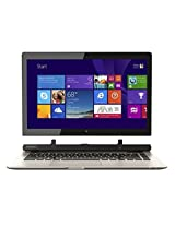 "Toshiba - Satellite Click 2 2-in-1 13.3"" Touch-Screen Laptop - Intel Pentium - 4GB Memory - 500GB Hard Drive - Satin Gold"
